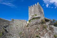 Sortelha slott fotografering för bildbyråer