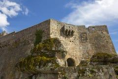 Sortelha slott arkivfoton
