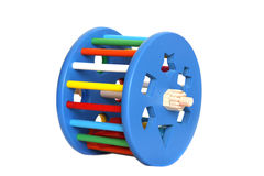 Sorter toy. Isolated over white royalty free stock photo