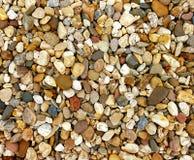 Sortes de Variounds ; pierres de la rivière Photos libres de droits
