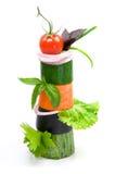 Sortes diferentes dos vegetais, alimento saudável Imagem de Stock Royalty Free