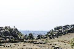 Sortez de la caverne ou gorgez Le Cachemire, Inde image stock