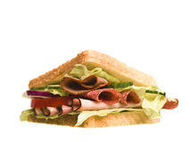 Sortez le sandwich Images stock
