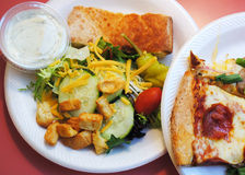 Sortez ou déjeunez buffet Photos stock