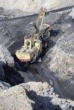 Sortie de charbon Photographie stock