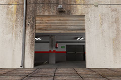 Sortie de garage Images libres de droits