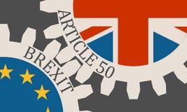 Sortie de la Grande-Bretagne d'image de parent d'Union européenne Photographie stock libre de droits