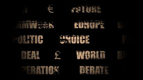 Sortie de la Grande-Bretagne d'Union européenne Brexit clips vidéos