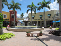 Sortie de Miromar dans Estero, la Floride Photo stock