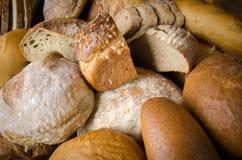 Sortierte Brote Stockfoto