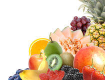 Sortierte Frucht Stockfotografie