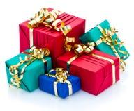 Sortierte Geschenke Lizenzfreie Stockfotografie