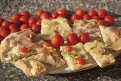 Sortierte Pizza Stockfotografie