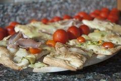 Sortierte Pizza Lizenzfreie Stockfotografie