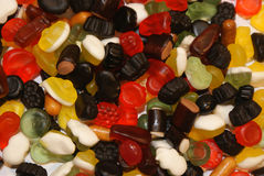 Sortierte süße Süßigkeit lizenzfreie stockfotografie