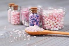 Sortierte Süßigkeit besprüht lizenzfreies stockbild