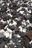 Sortierte vulkanische Felsen Lizenzfreie Stockfotos