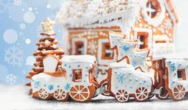 Sortierte Weihnachtslebkuchenplätzchen Lizenzfreie Stockbilder