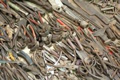 Sortierte Werkzeuge Stockfotografie