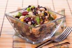 Sortierter Bohnen-Salat Stockbilder