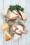 Sortierter Käse Lizenzfreie Stockbilder