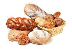 Sortiertes Brot Lizenzfreie Stockbilder