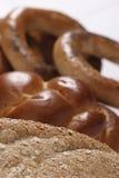 Sortiertes Brot Stockfotografie