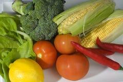 Sortiertes Gemüse Stockfoto