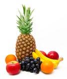Sortiment av exotiska frukter   Arkivbild