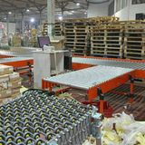 Shipping Distribution. Sorting Cargo and Delivery Distribution Warehouse stock image