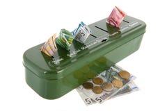 Sorting money Stock Image