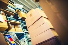 Shipping Packaging Facility Royalty Free Stock Photo