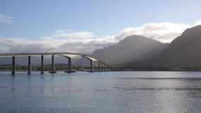 The Sortland Bridge Royalty Free Stock Image