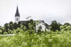 Sortland Church in Sortland in Nordland county, Norway Stock Images