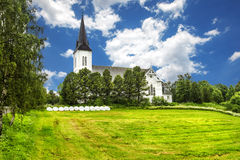 Sortland Church in Sortland in Nordland county, Norway Royalty Free Stock Photography