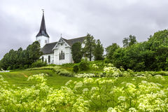 Sortland Church in Sortland in Nordland county, Norway Stock Photo