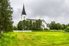 Sortland Church in Sortland in Nordland county, Norway Royalty Free Stock Photos