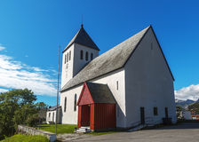 Sortland Church in Sortland in Nordland county, Norway Royalty Free Stock Photo