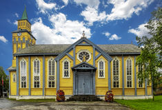 Sortland Church in Sortland in Nordland county, Norway. Sortland Church Norwegian: Sortland kirke is a parish church in Sortland in Nordland county, Norway, was Stock Photography