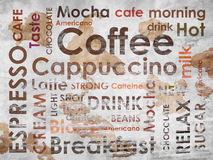 Sorts of coffe Stock Images