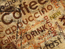 Sorts of coffe Royalty Free Stock Photography