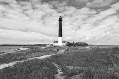 Sorve lighthouse against the sky, Saaremaa island, Estonia. Sorve lighthouse against blue sky, Saaremaa island, Estonia Stock Photo