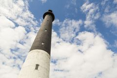 Sorve lighthouse against blue sky in Estonia. Sorve lighthouse against blue sky, Saaremaa island, Estonia stock images