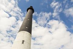 Sorve lighthouse against blue sky in Estonia. Sorve lighthouse against blue sky, Saaremaa island, Estonia Stock Images