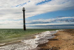 Sorve Lighthouse Saaremaa Estonia Stock Photo
