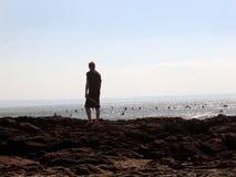 Sorveglianza dei surfisti Fotografia Stock Libera da Diritti