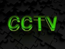 Sorveglianza del CCTV Fotografie Stock Libere da Diritti