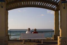 Sorveglianza del mare Fotografie Stock