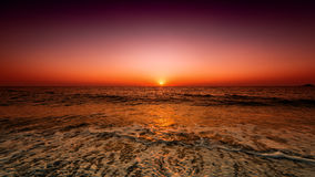 Sorveglianza del sunsrise Fotografia Stock Libera da Diritti