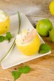 Sorvete do limão Fotos de Stock Royalty Free